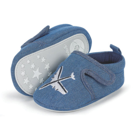 Sterntaler Boys Baby Crawl Shoe, marine