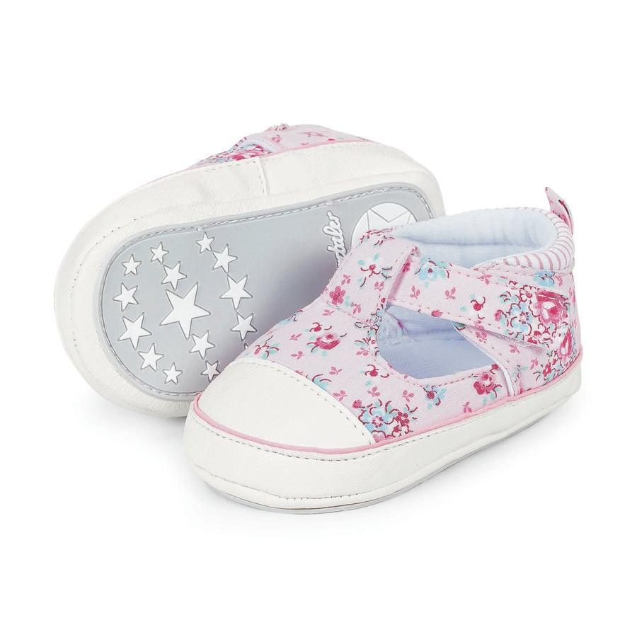 Sterntaler Girl s Baby shoe, różowy.