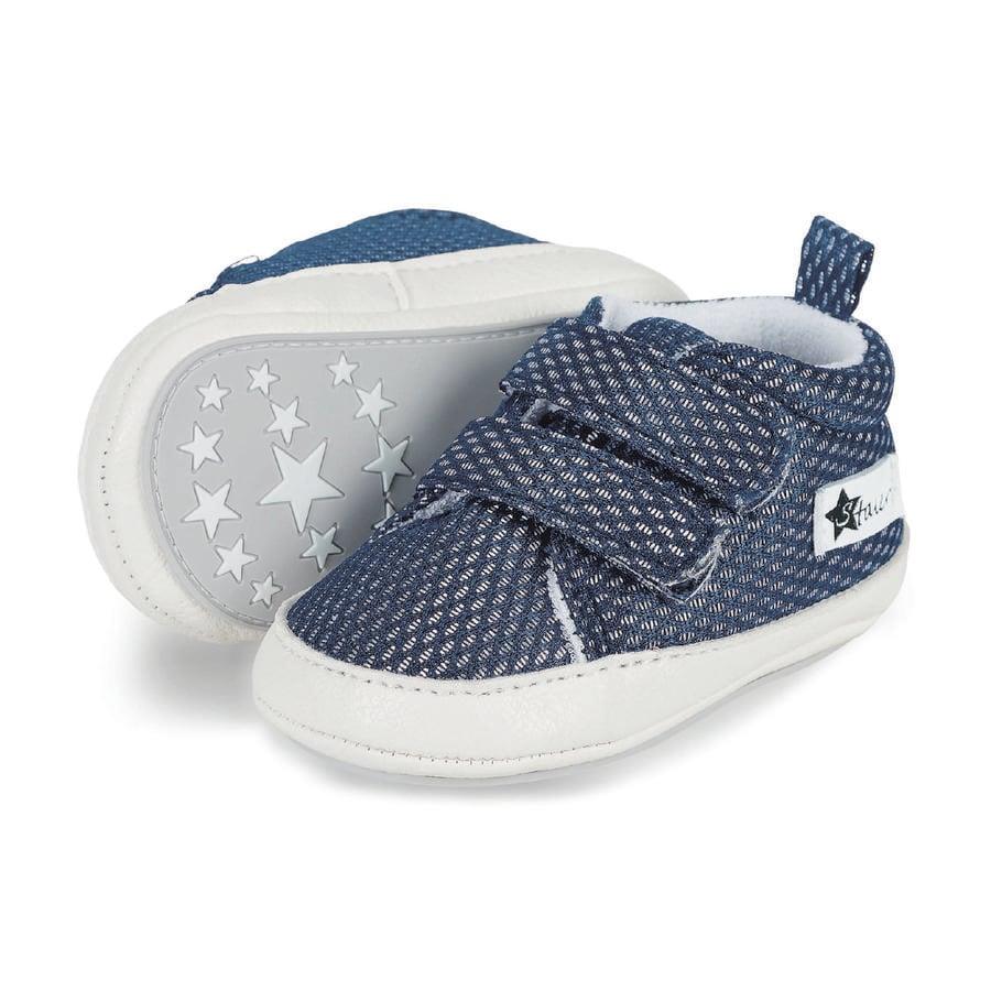 Sterntaler Boys Calzado de bebé, azul marino