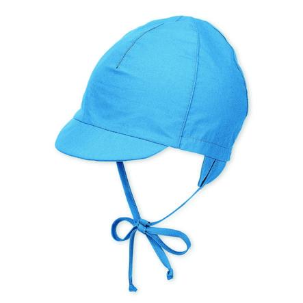 Sterntaler Vizierpet fluweelblauw met stropdasbandje