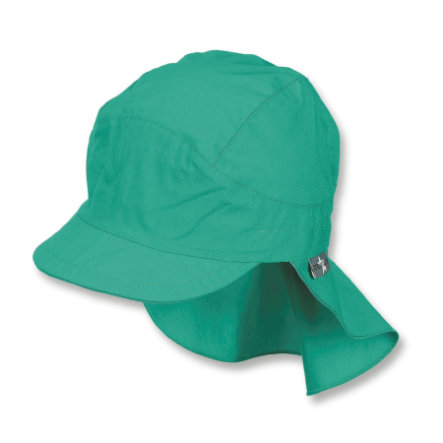 Sterntaler czapka z osłoną szyi i miętą pieprzową zabezpieczającą szyję