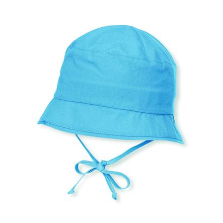 Sterntaler Chapeau bob bébé réversible bleu velours