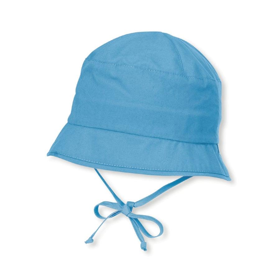 Sterntaler Chicos sombrero de pesca de terciopelo azul