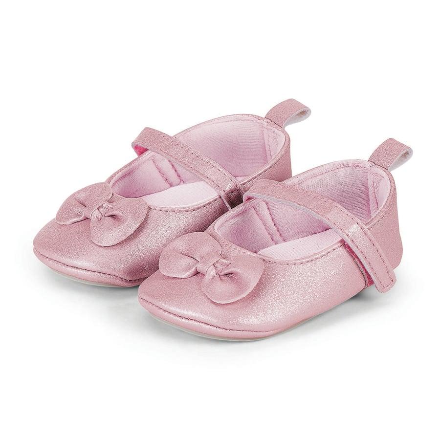 Sterntaler Girls Baby-Ballerina, blekrosa