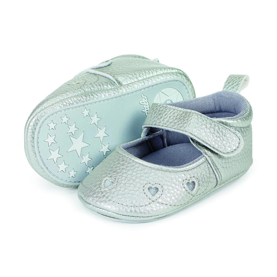 Sterntaler Girl s Sandale bébé, gris fumé