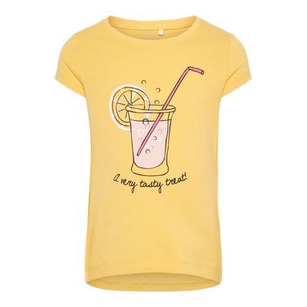 name it Girls T-Shirt Veen pale marigold