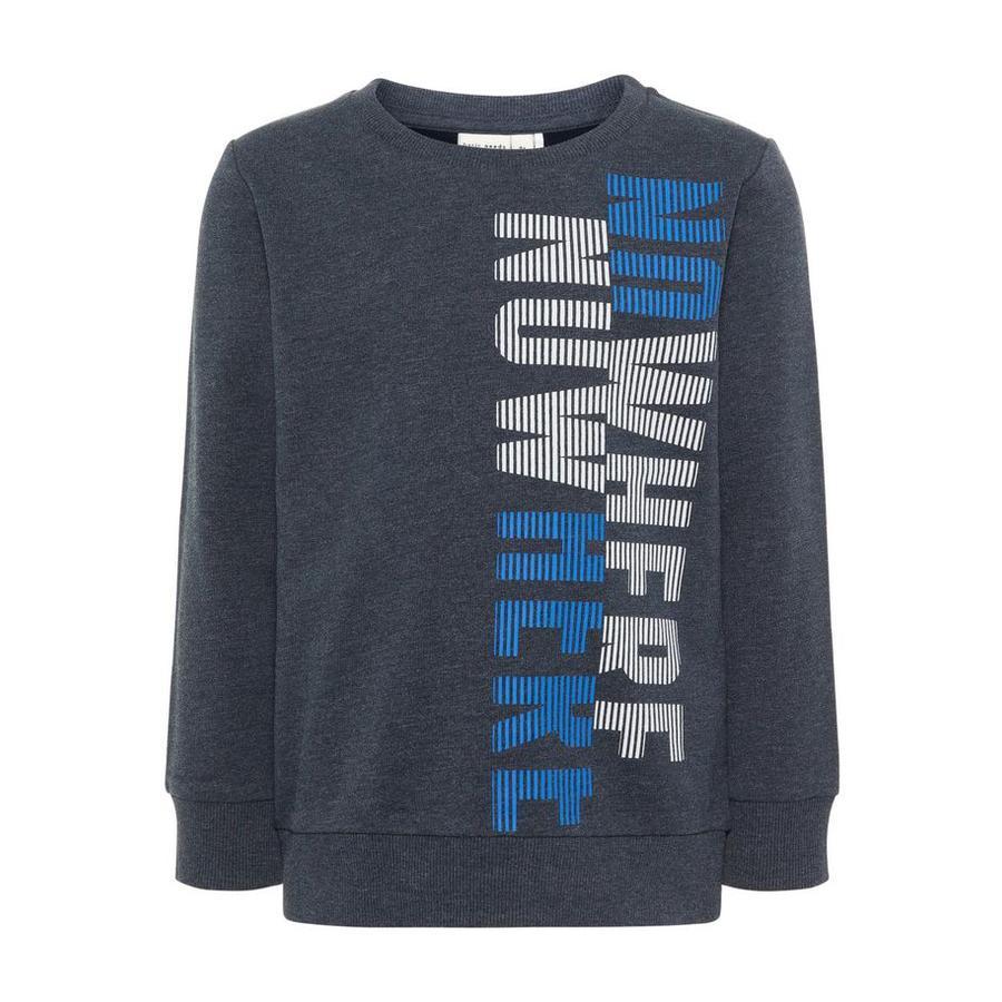 name it Boys NMMVALEXANDER Bluza bluza z ciemnego szafiru