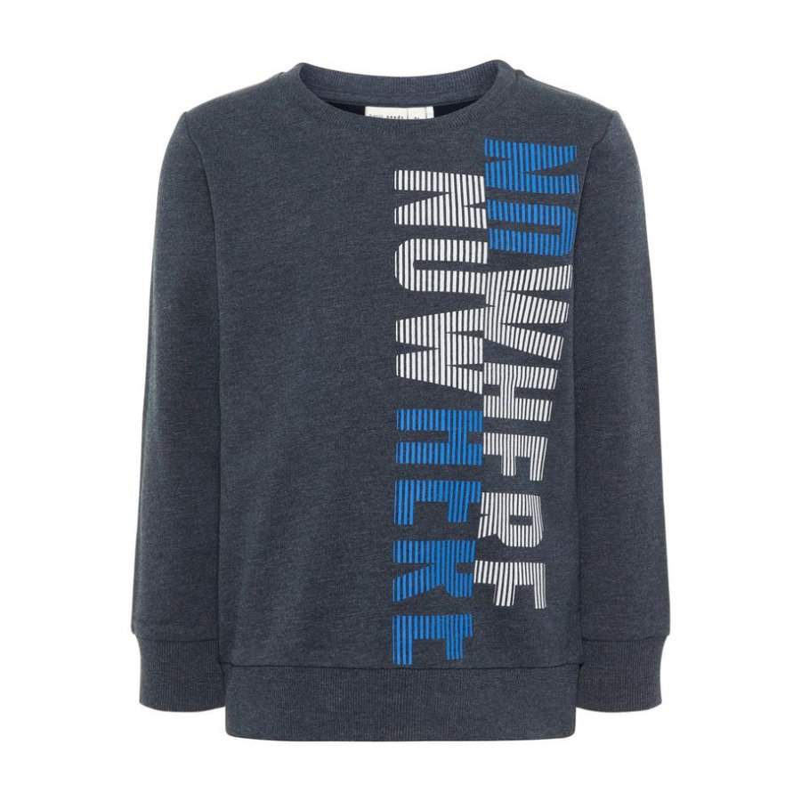 name it Boys NMMVALEXANDER Sweatshirt dark sapphire