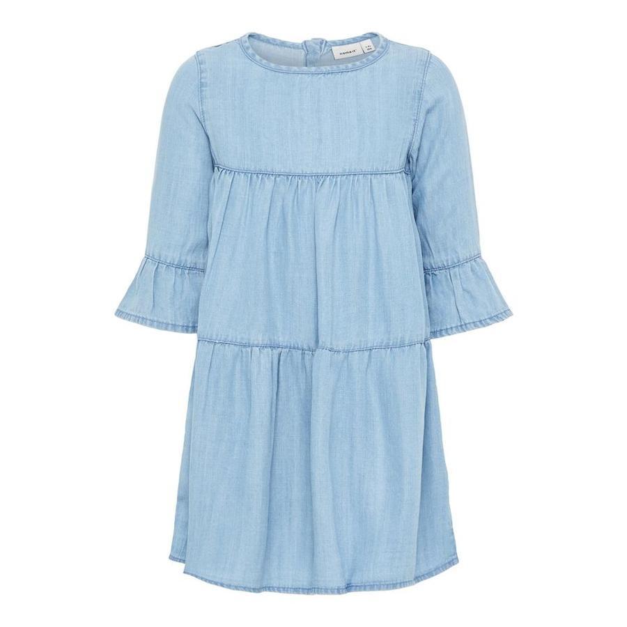 name it Girl s dress bonnet NMFDINA bleu