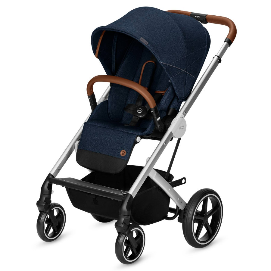 cybex GOLD Wózek spacerowy Balios S Denim - Denim Blue