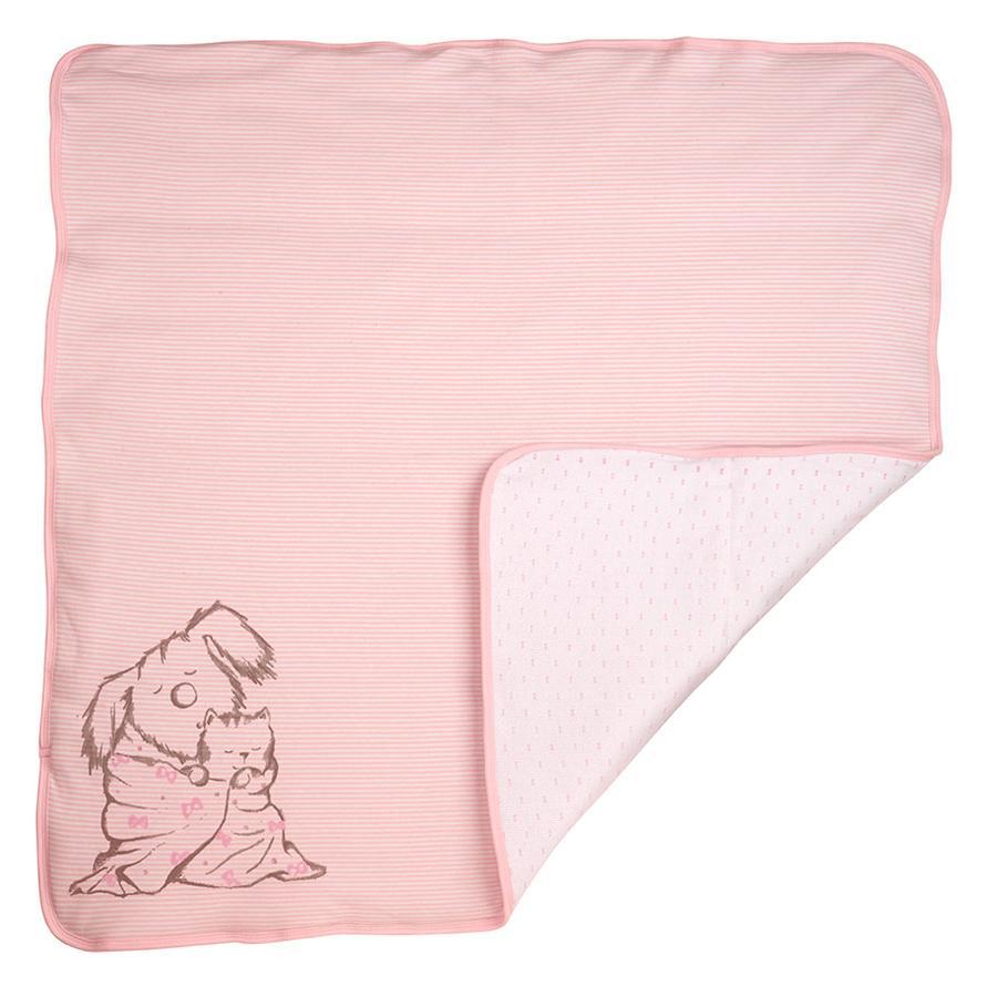 DIMO-TEX Deken Hond & Kat roze
