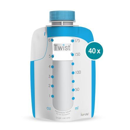 babymoov Sachet de lait maternel Twist, 40 pièces