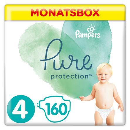 Pampers Pure Protection Größe 4 Maxi 160 Windeln 9 bis 14 kg Monatsbox