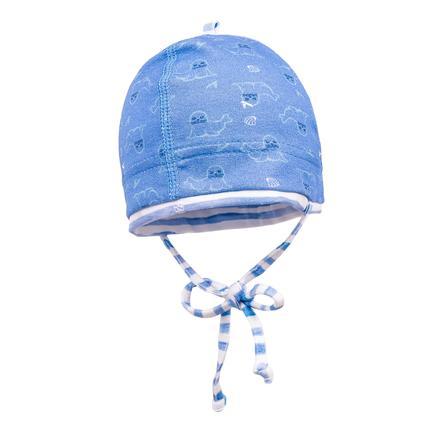 maximo Boys Cap Seals blauw azur
