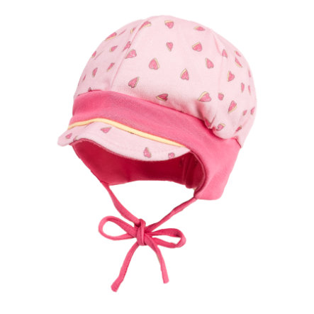 maximo Girl s peak cap corazones rosa-rosa