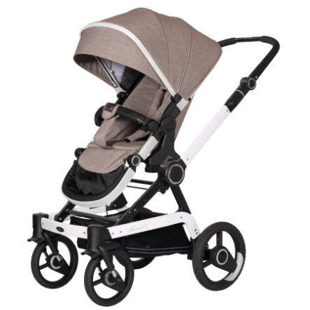 Hartan Kinderwagen Xperia GTX Little Family (636) frame wit