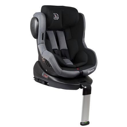 babyGO Iso 360 barnestol - svart