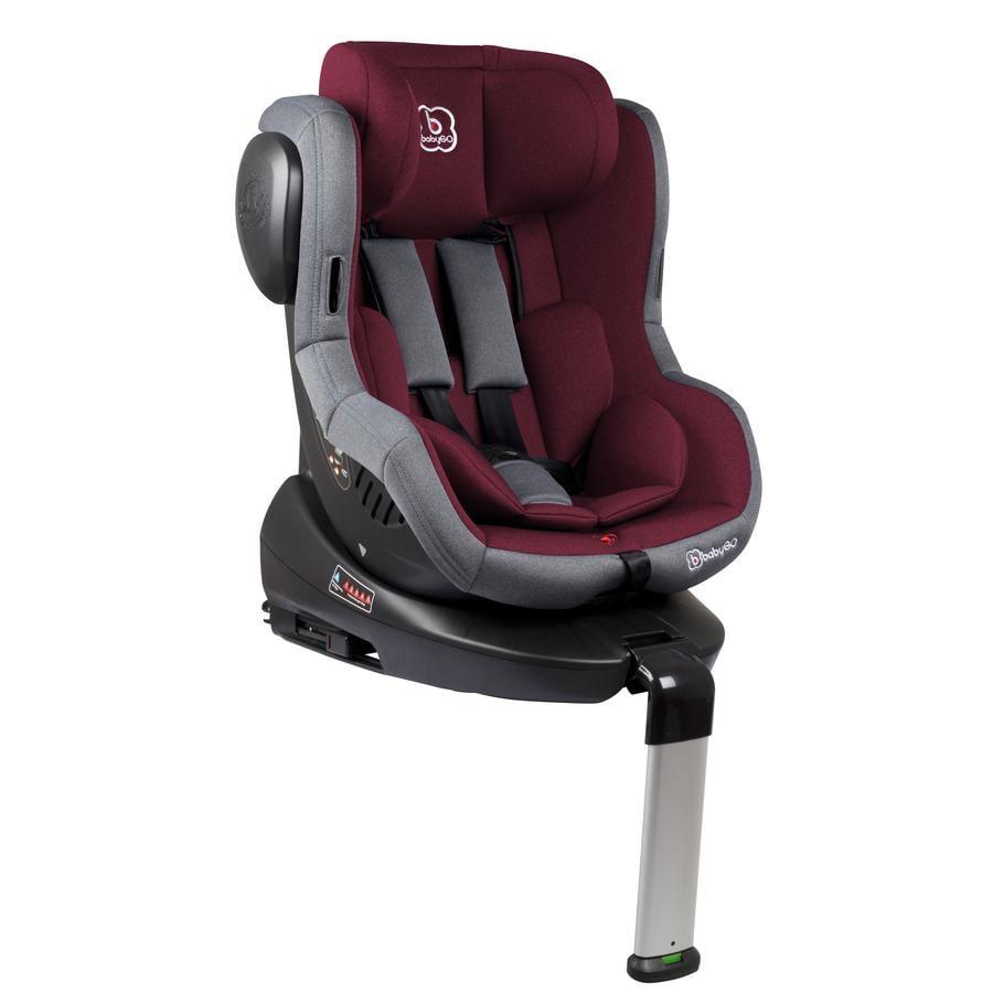 9-36kg Babygo niños asiento del coche ISO grupo I//II//III rojo Top