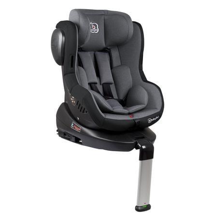 babyGO Silla de coche gr. 0/1 Iso 360 - gris