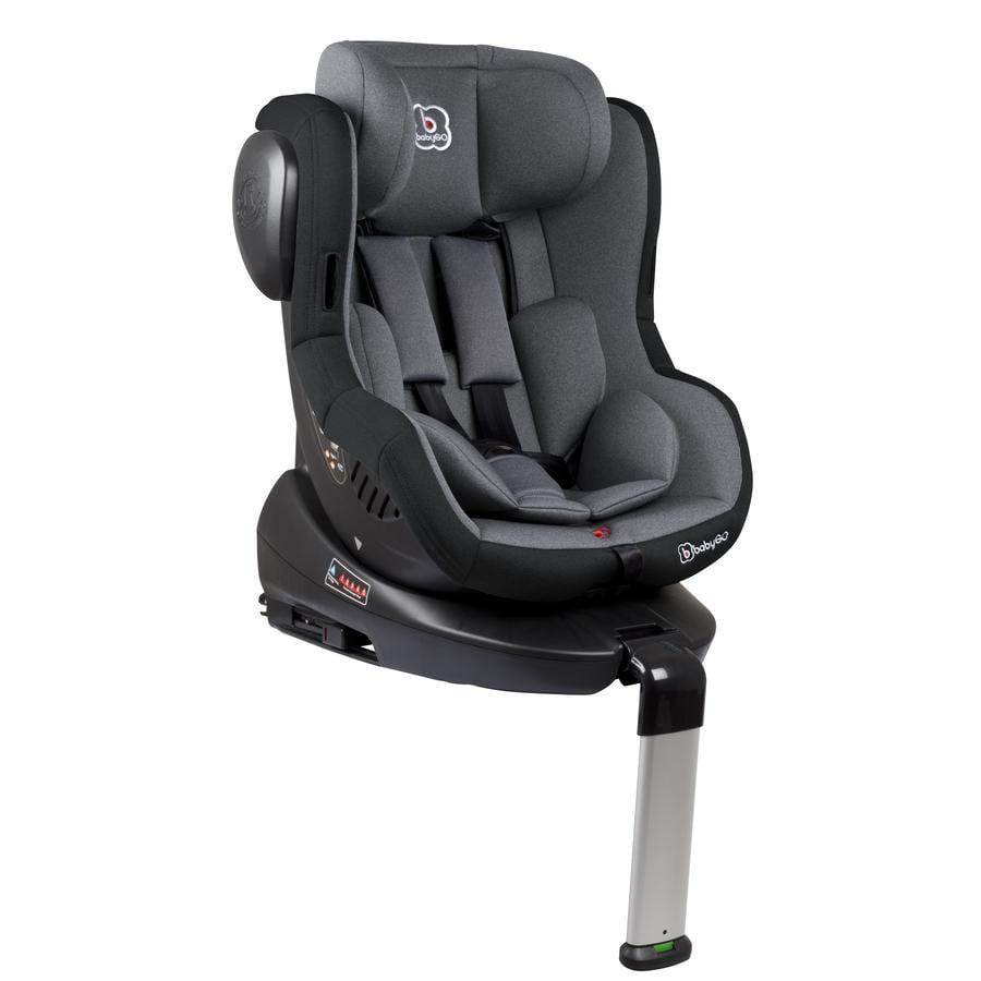 babyGO Siège auto pivotant Iso 360 groupe 0/1 gris 2019
