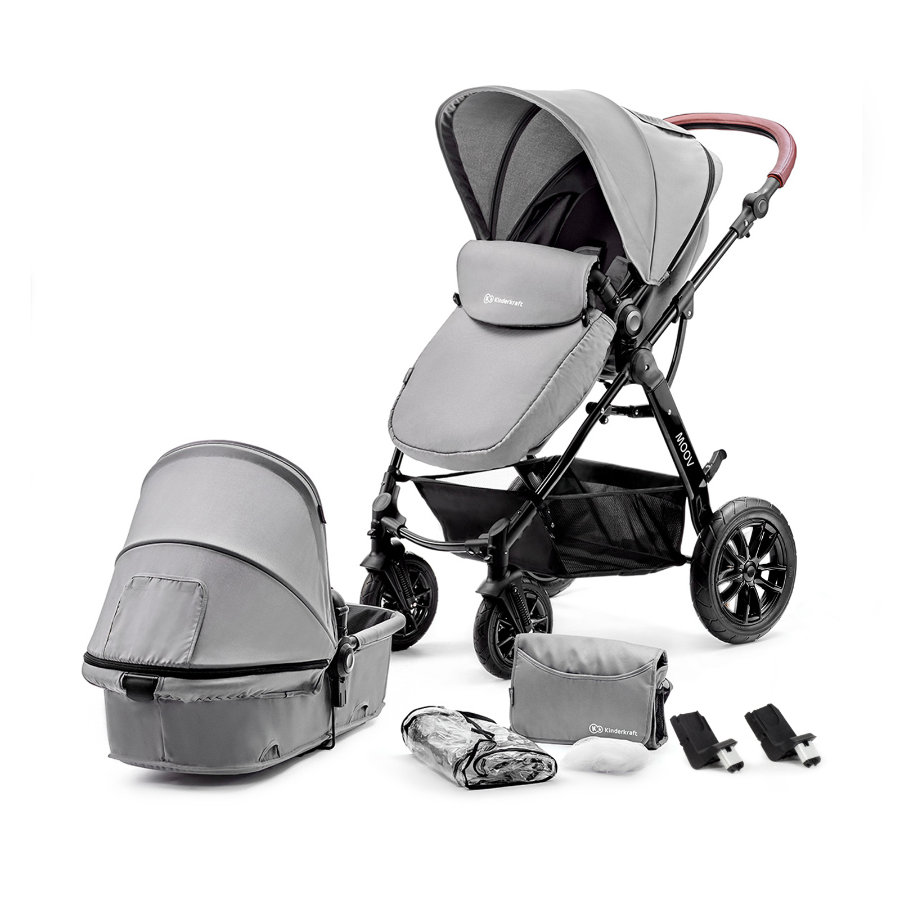 Kinderkraft Kombivagn 2 in 1 Moov grey