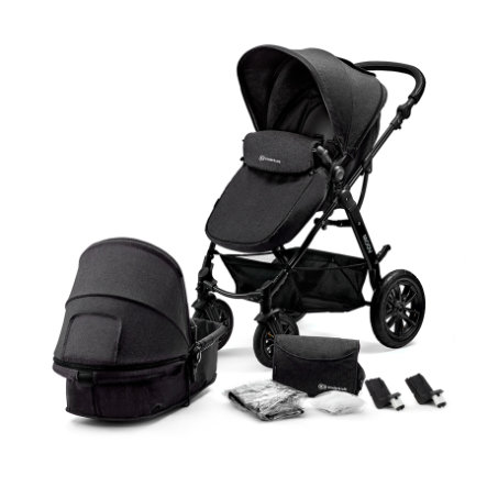 Kinderkraft Passeggino duo 2 in 1 Moov black