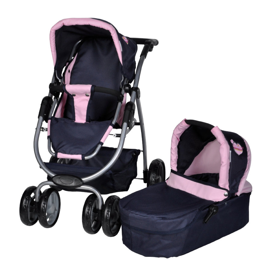 knorr® toys Passeggino per bambole duo Coco - My little Princess