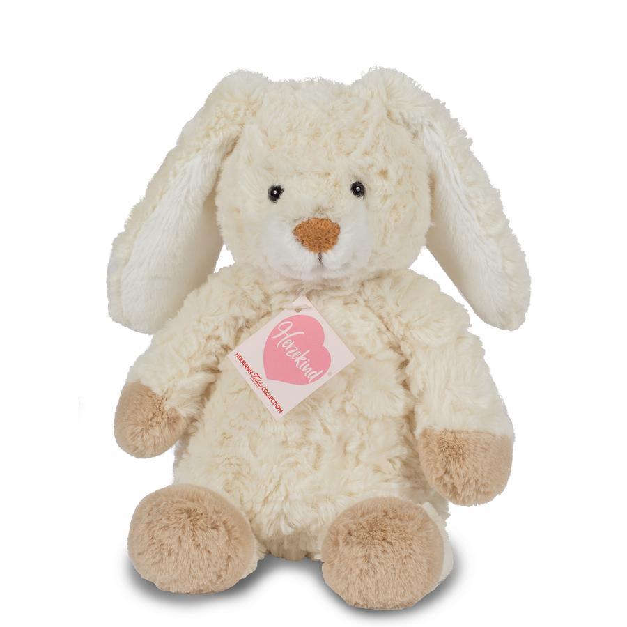 Teddy HERMANN® Hjertebarn - bunny gulrot 27 cm