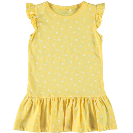 name it Girls Kleid Vida pale marigold