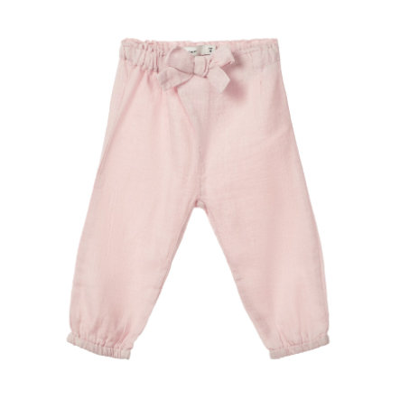 name it Girl s pantalon en coton Dajla crème à la fraise