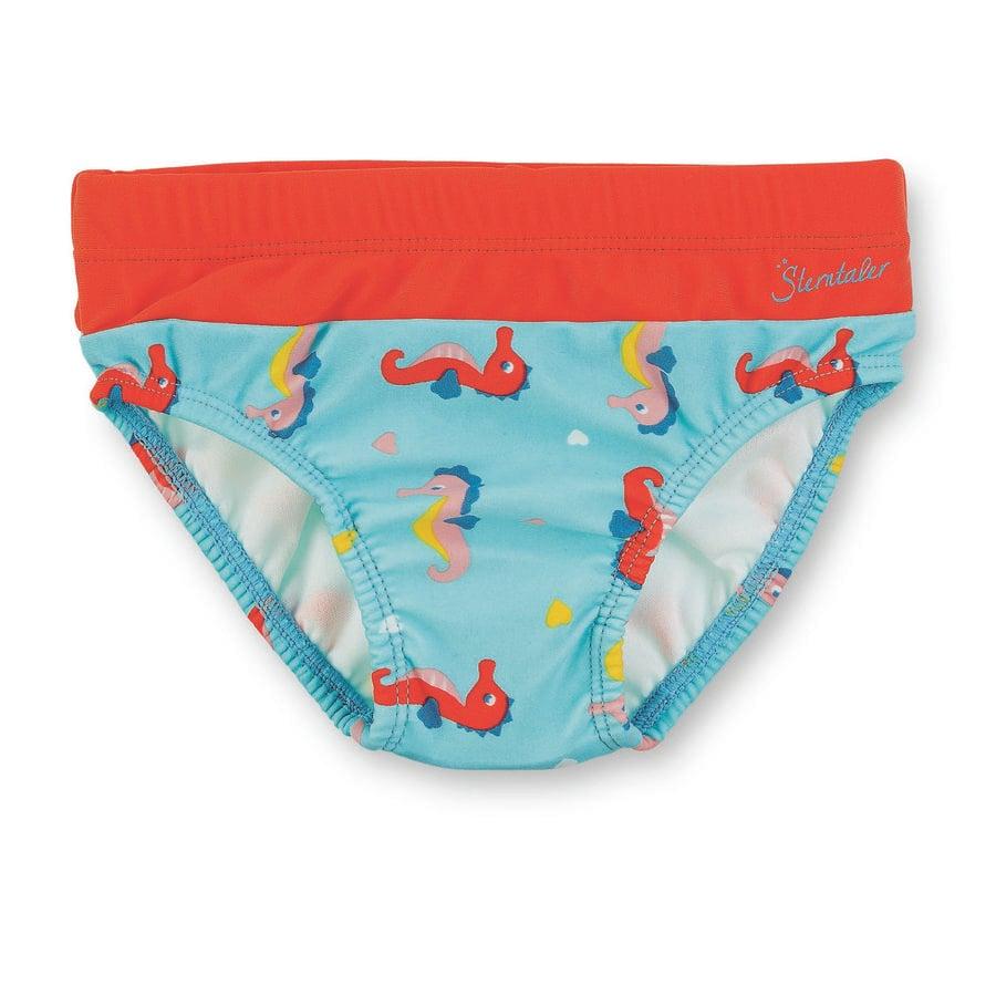 Sterntaler UV-Badehose Seepferd meeresblau
