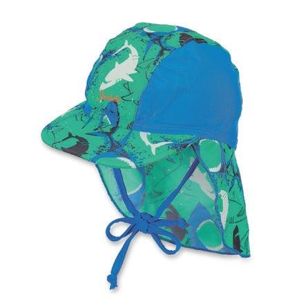 Sterntaler Schirmmütze mit Nackenschutz pfefferminz