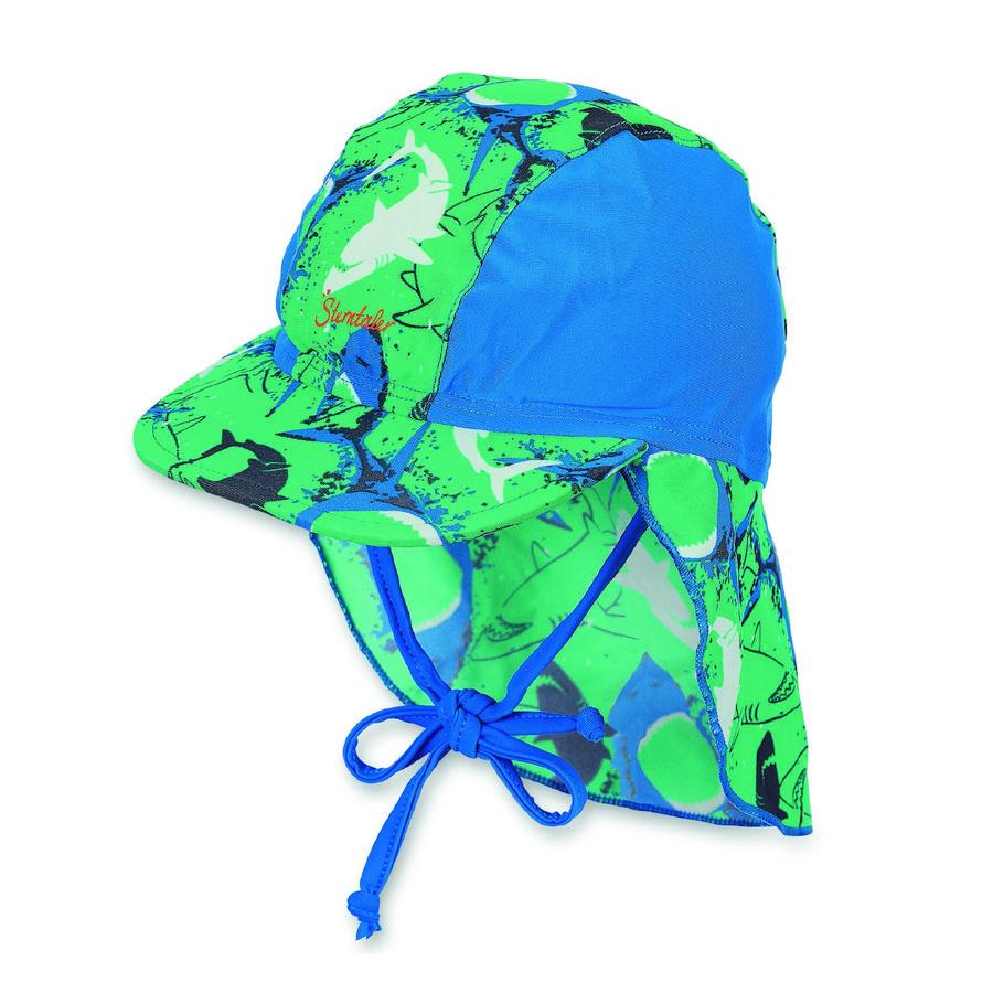 Sterntaler casquette à visière avec protège-cou menthe poivrée