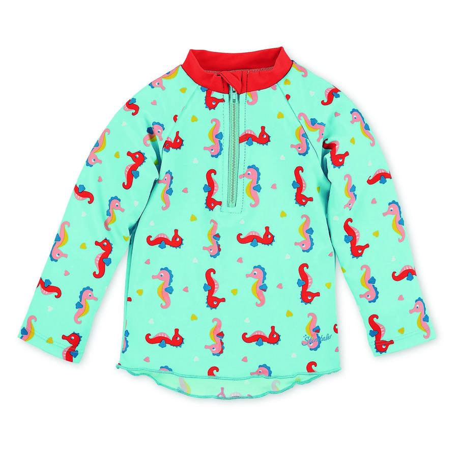 Sterntaler Langermet svømmeskjorte havblå