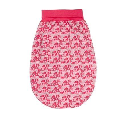 maxi mo sac à grenouillère Jersey éléphants azalee-blass rosa
