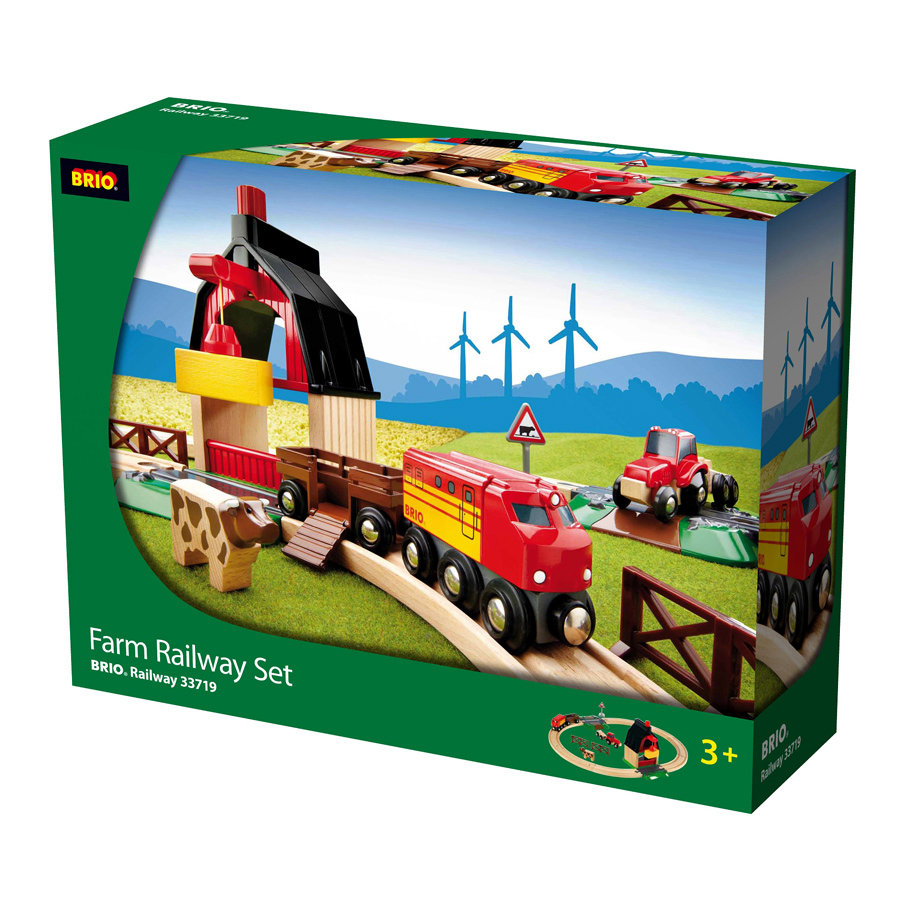 BRIO Train Set Farm 33719