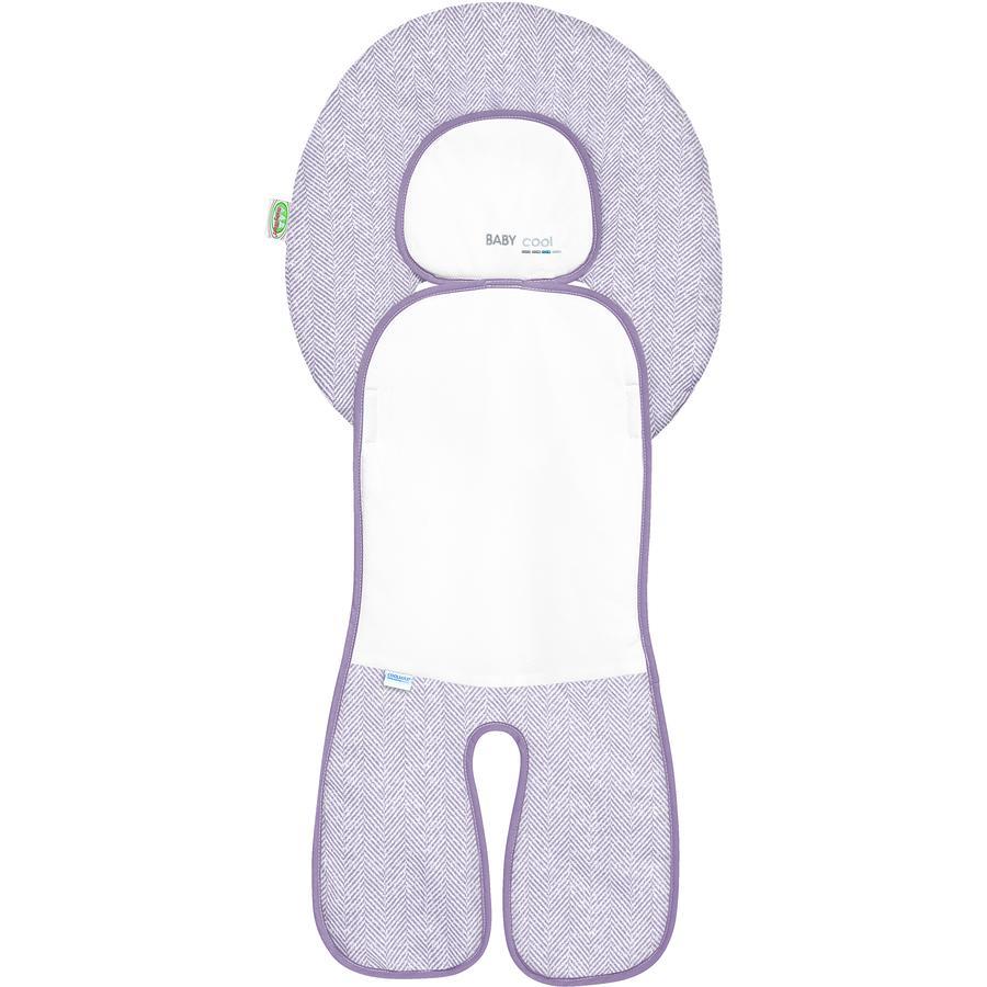 Odenwälder Babycool vložka do autosedačky, New Woven violett