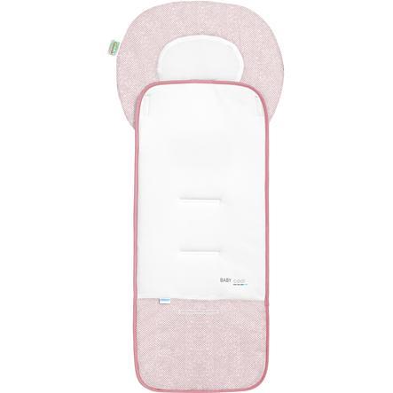 odenwälder Sommer Kinderwagenauflage Babycool, New Woven candy pink