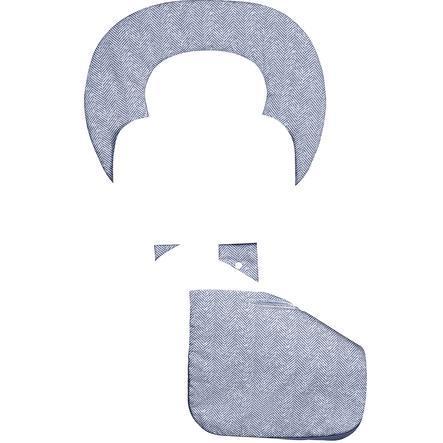 odenwälder Matelas de poussette ergonomique été Babycool, New Woven navy
