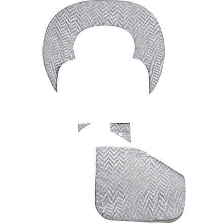 odenwälder Matelas de poussette ergonomique été Babycool, New Woven graphite