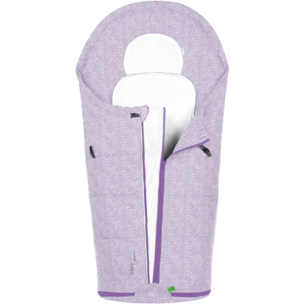 odenwälder Letni śpiworek Klimo-cool, New Woven violett