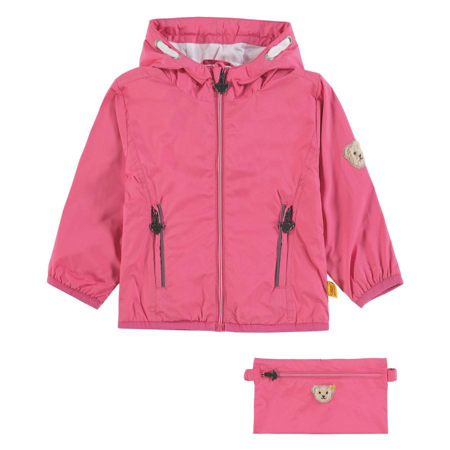 Steiff Girls Giacca a vento rosa