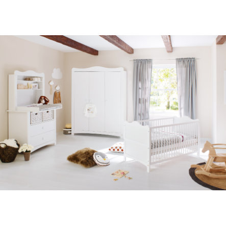 Pinolino Habitación infantil Florentina ancha, grande incl. estantería ancha