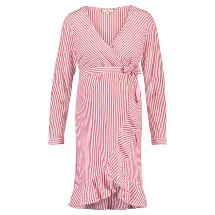 noppies Robe de maternité Oria Crimson Stripe