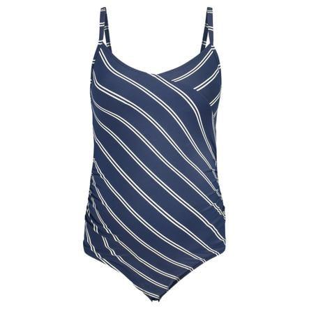 noppies Strój kąpielowy ciążowy Noreen Strój blues Stripe z niebieskim paskiem