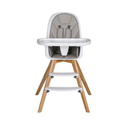 Schardt Chaise haute bébé Holly hêtre gris clair