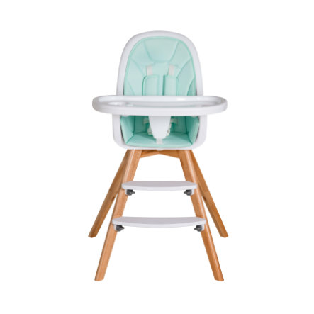 Schardt Chaise haute bébé Holly hêtre menthe