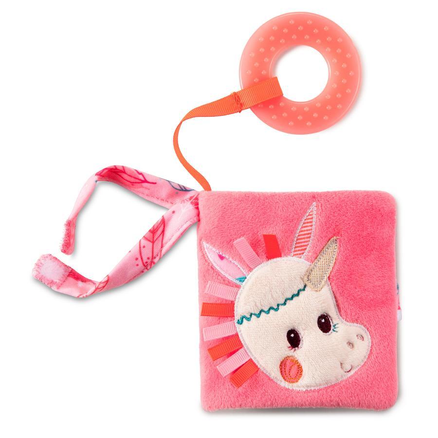 Lilliputiens Playbook s kroužekem na zuby - Louise