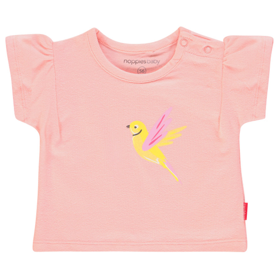 noppies T-shirt Silvis Impatiens Pink