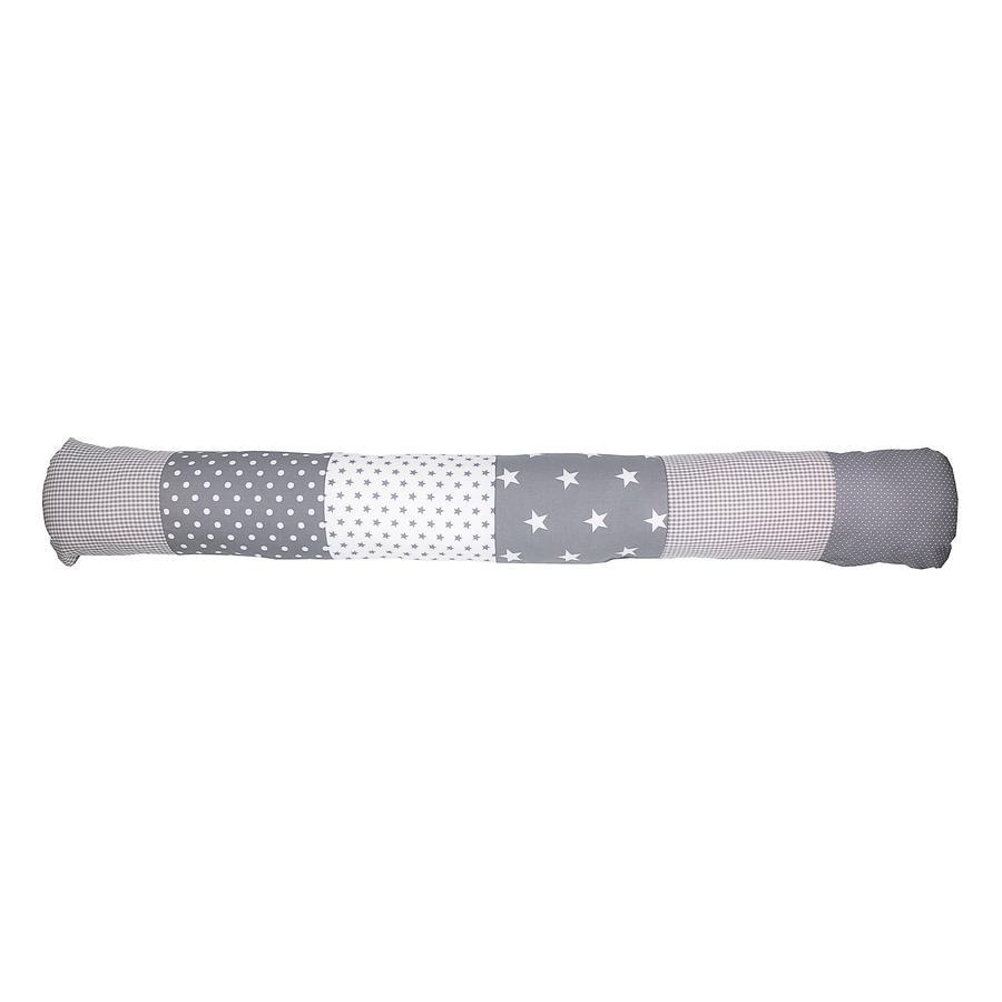 Ullenboom Baby-Bettschlange Graue Sterne 120 cm
